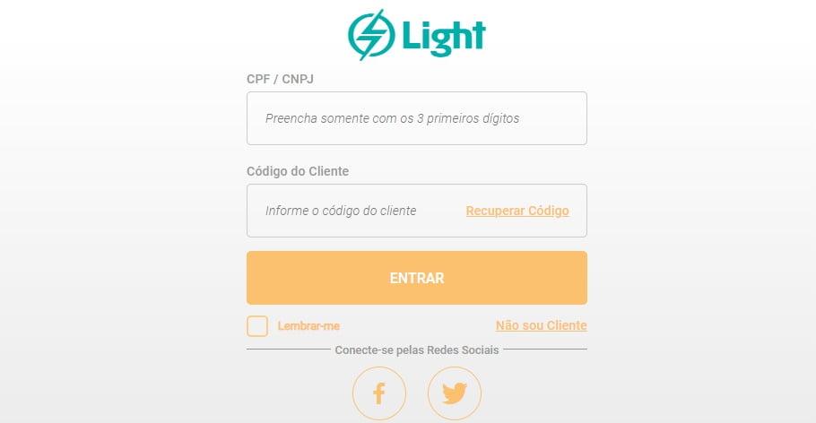 2 via conta luz light
